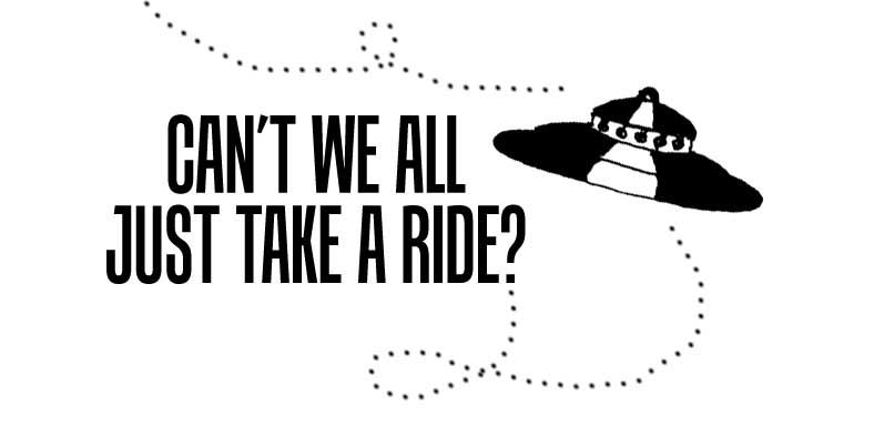 Can't We All Just Take A Ride?